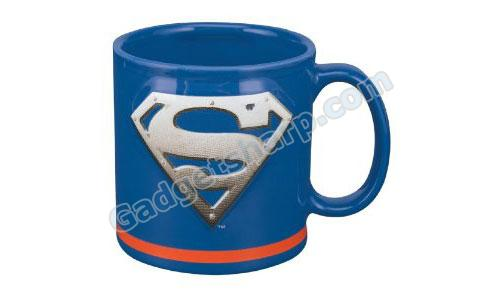 20-Ounce Sculpted Mug, Superman Man of Steel