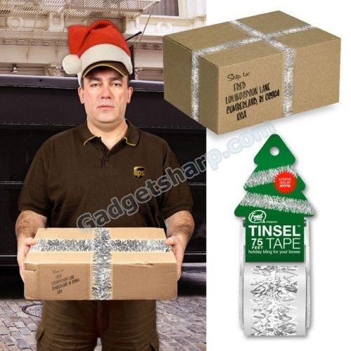 Fred Tinsel Packing Tape