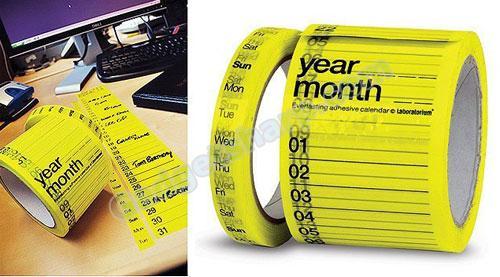 Calendar Tape