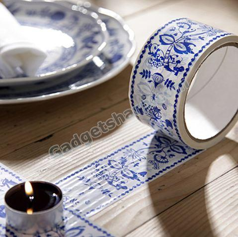 Tape with Blue Onion