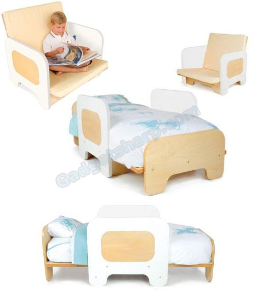 P'kolino Toddler Bed and Chair