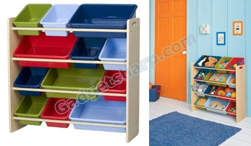Kids' Toy Organizer and Storage Bin