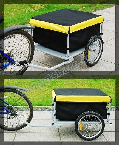 Aosom Bicycle Bike Cargo Trailer