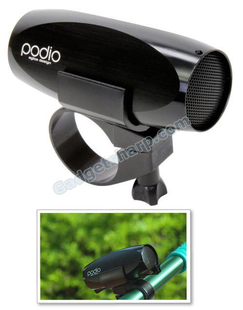 Agios Podio 2GB MP3 Player for Bicylcing (Handlebar Mount)