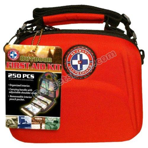 Total Resources International 250-Piece Outdoor First Aid Kit