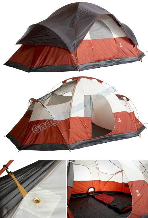 Red Canyon 17-Foot by 10-Foot 8-Person Modified Dome Tent