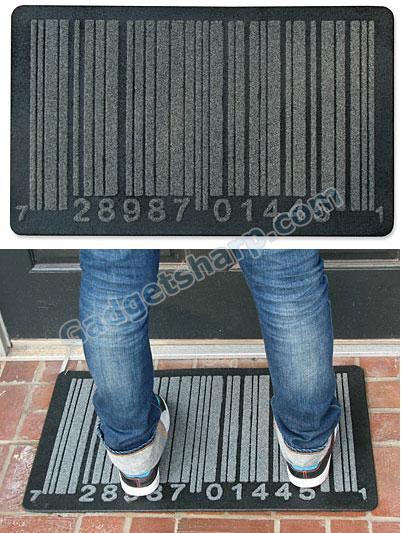 Barcode Doormat
