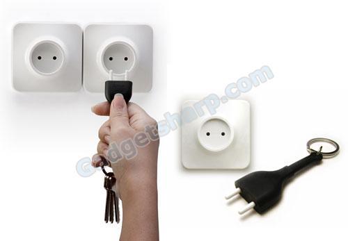 Unplug Key Ring