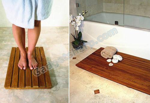 Conair DPSHMAT Teak Bath Mat