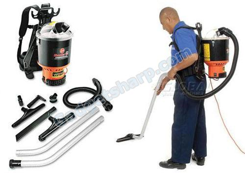 Backpack Vacuum - Low-Pile Vacuum Cleaner
