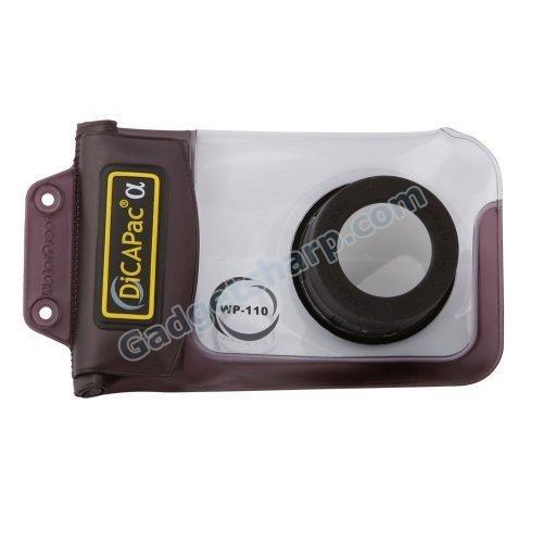 DicaPac WP110 Small Alfa Waterproof Digital Camera Case with Optical Lens