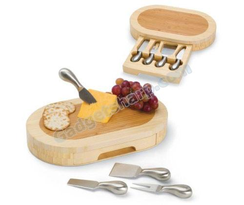 Picnic Time formaggio Cheese Set