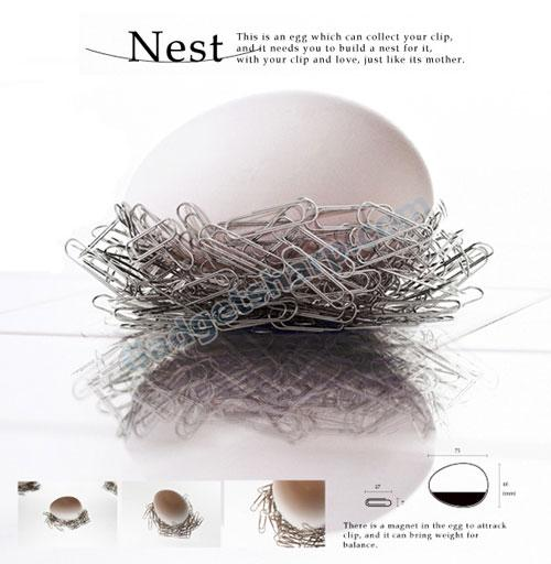 Make A Paperclip Nest
