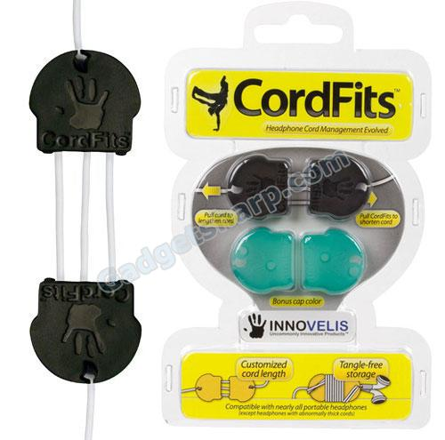 CordFits - Headphone Cord Management Evolved