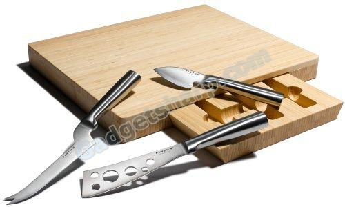 Amazon Cheese Knives and Board Set
