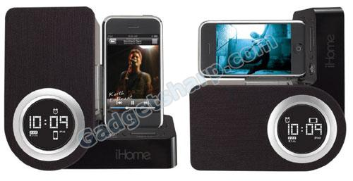 iHome iP41 Rotating Alarm Clock for iPod and iPhone