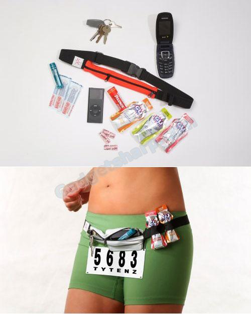 GO BELT-No Bounce Runners Belt, Runners Gear Belt
