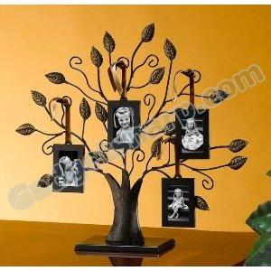 Studio Silver Tree Of Life with 4 Frames