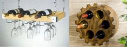 15 Modern and Stylish Wall-mounted Wine Racks