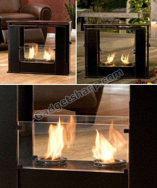 Portable Indoor/Outdoor Fireplace