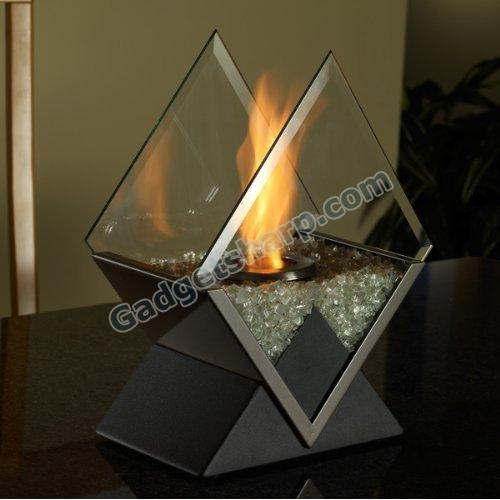Real Flame Diamond Personal Fireplace