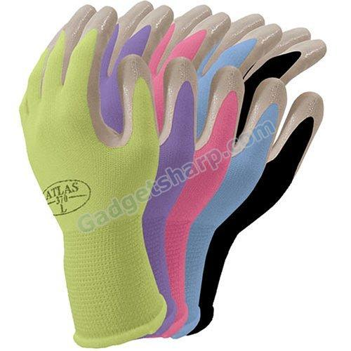 Atlas NT370 Nitrile Garden and Work Gloves