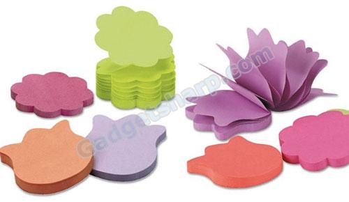 Post-it Notes, Flower Shaped