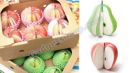 Fruit Memo Pad: Pear