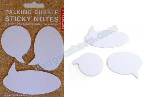 Sticky Notes: Talking Bubbles