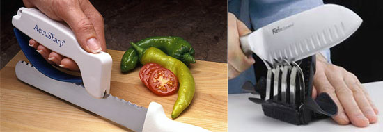 Innovative and Functional Knife Sharpeners