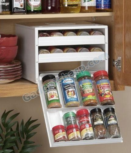 13 Cool Spice Rack Designs Help Your Kitchen