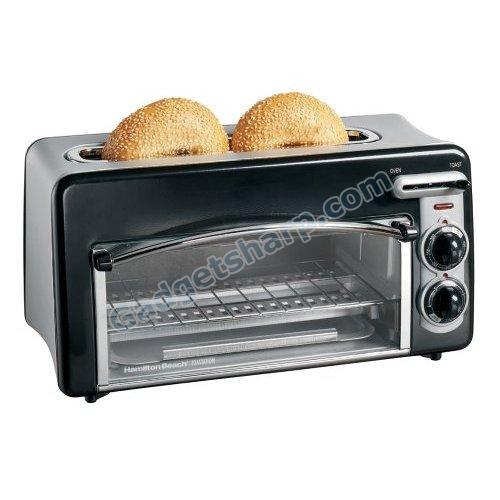 2-Slice Toaster and Mini Oven