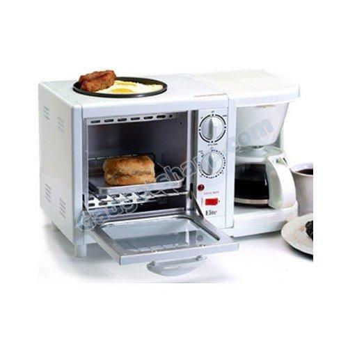 Elite Cuisine 3-in-1 Breakfast Station