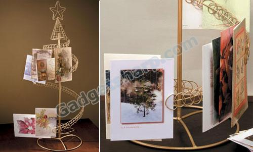 Christmas Card Holder Tree
