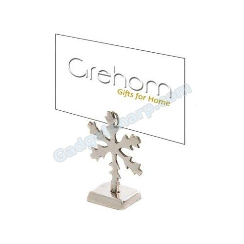 Grehom Place Card Holder (Set of 4) - Snowflake