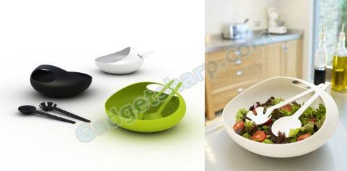 Joseph Salad Bowl and Servers