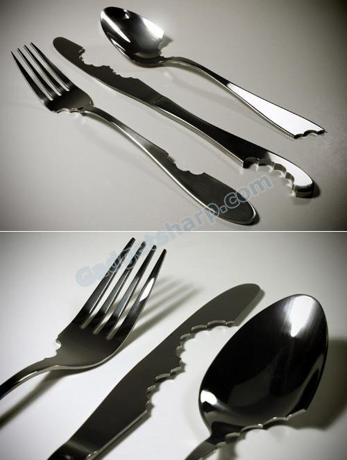 11 Elegant And Unusual Cutlery Designs Gadget Sharp
