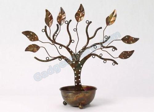 Jewelry Tree W/Bowl Large