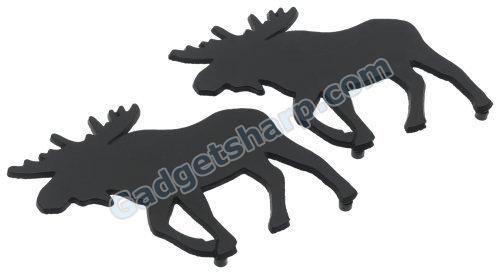 DII Moose Black Cast Iron Trivet