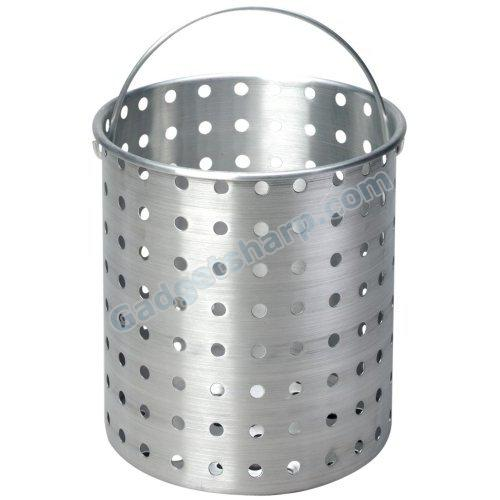 King Kooker 26-Quart Aluminum Drain Basket for Turkey Pots