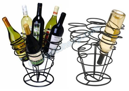 Oenophilia 6-Bottle Bouquet Wine Rack