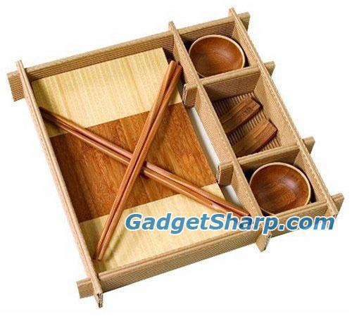 Bamboo Sushi Gift Set