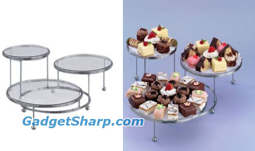 3-Tier Cakes N More Party Stand
