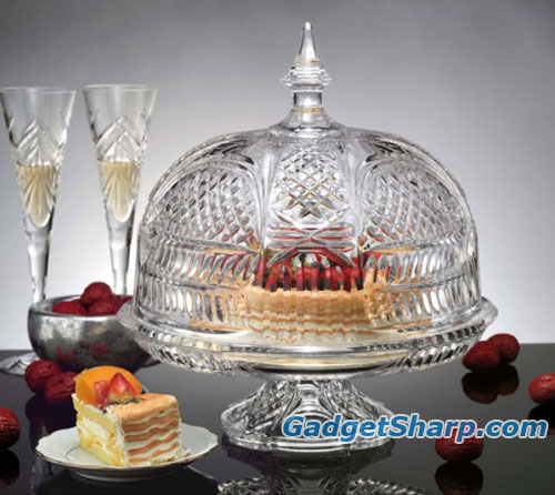 LEXINGTON FTD CVRD CAKE PLATE