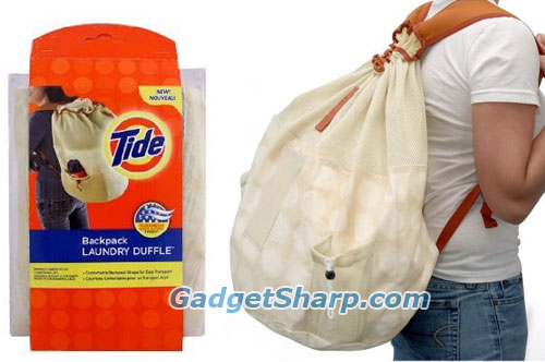 Tide Laundry Backpack Duffel Bag Duramesh Straps