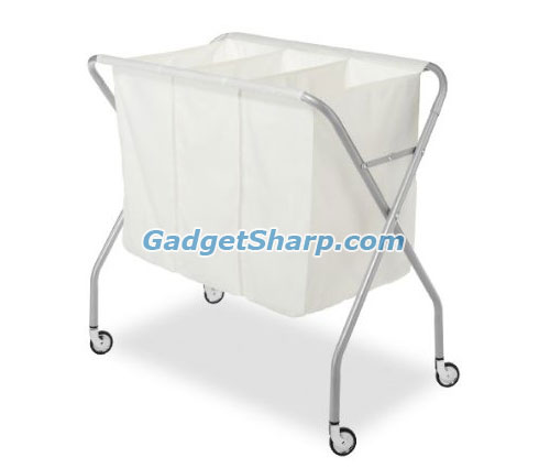Whitmor 3 Section Laundry Sorter