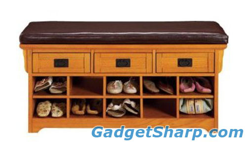 Craftsman 42w Storage Bench With Open Shoe Storage