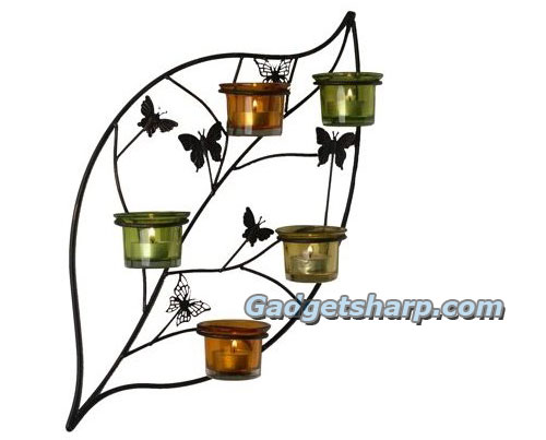 Butterfly Leaf wall sconce