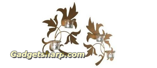 Grand Leaf Votive Sconce