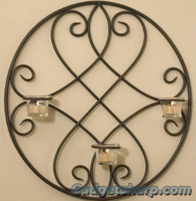 Luca Bella Home? Lindsey Wrought Iron Wall Sconce